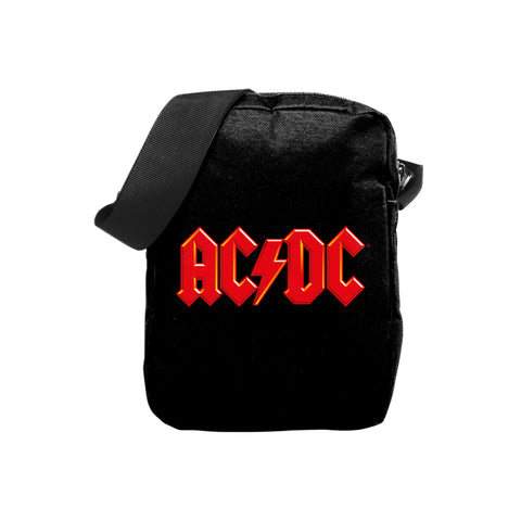 AC/DC Crossbody Bag - Red Logo