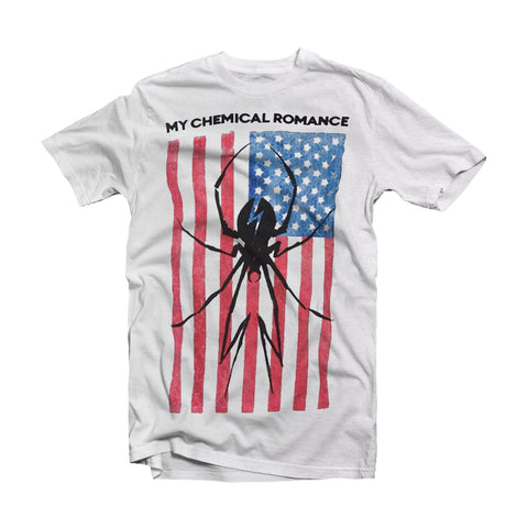 My Chemical Romance T Shirt - (MCR) Flags