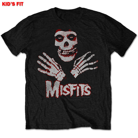Misfits Kids Youth T Shirt - Hands