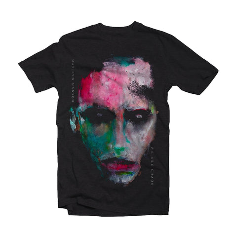 Marilyn Manson T Shirt - War Are Chaos Cover