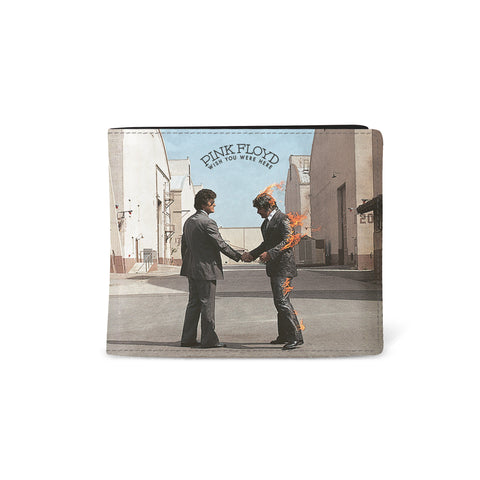 Pink Floyd   Wallet   Wish You Were Here Cover from Rocksax | Buy Now from   £9.99