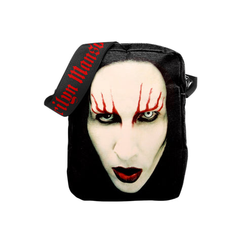 Marilyn Manson Crossbody Bag - Red Lips