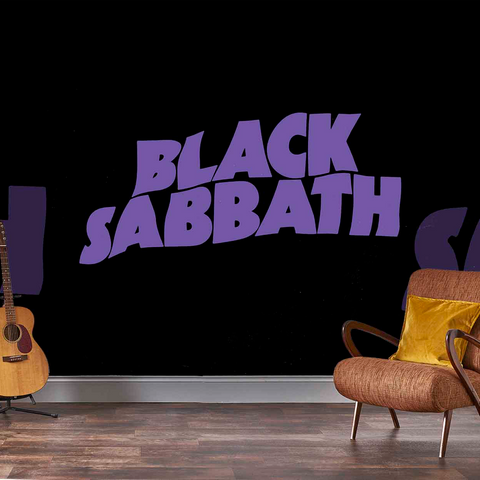 Black Sabbath Mural - Master of Reality