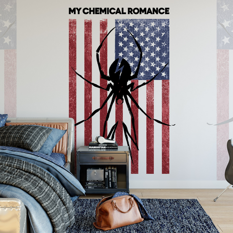 My Chemical Romance Mural - Flag