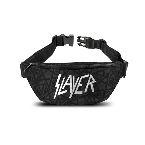 Slayer   Bum Bag   Logo Silver from Rocksax | Buy Now from   £14.99