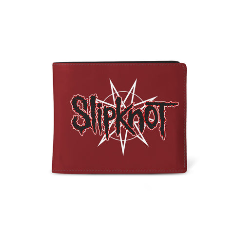 Slipknot   Wallet   WANYK Star Red from Rocksax | Buy Now from   å £9.99
