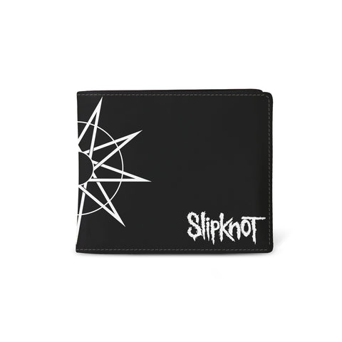 Slipknot   Wallet   WANYK Star from Rocksax | Buy Now from   å £9.99