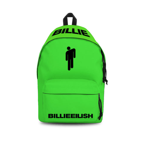 Billie Eilish Daypack - Bad Guy Green
