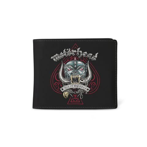 Motorhead   Wallet   Ace Of Spades from Rocksax | Buy Now from  £9.99