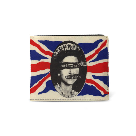 Sex Pistols   Wallet  God Save The Queen from Rocksax | Buy Now from   å £9.99