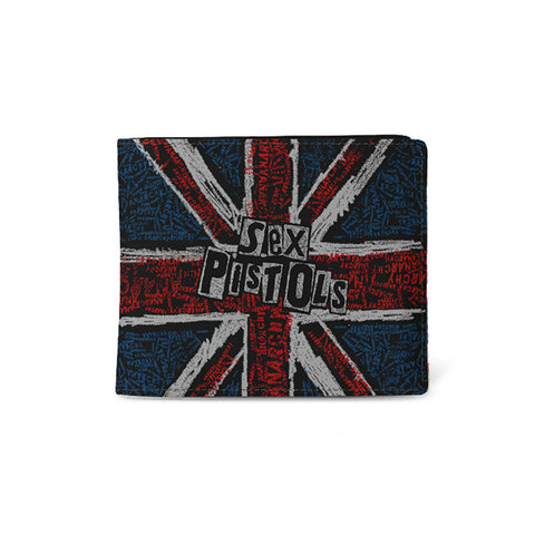 Sex Pistols   Wallet   UK Flag from Rocksax | Buy Now from   å £9.99