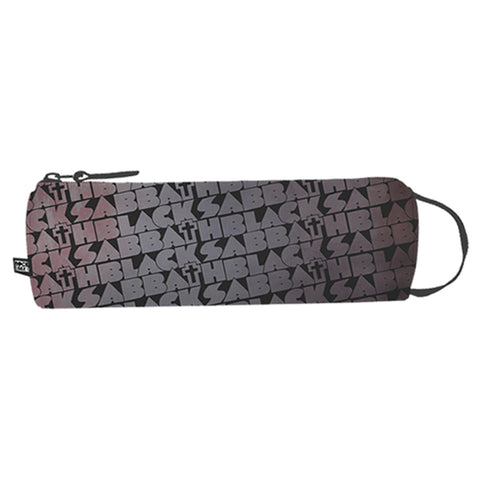 Black Sabbath Pencil Case - Distressed Cross