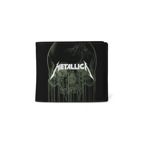 Metallica   Wallet   Skull from Rocksax | Buy Now from  £9.99