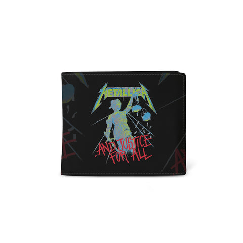 Metallica   Wallet   Justice For All from Rocksax | Buy Now from  £9.99