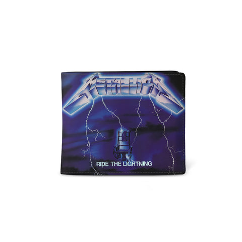 Metallica   Wallet   Ride The Lightning from Rocksax | Buy Now from  £9.99