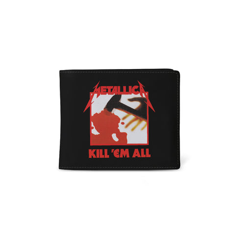 Metallica   Wallet   Kill Em All from Rocksax | Buy Now from  £9.99