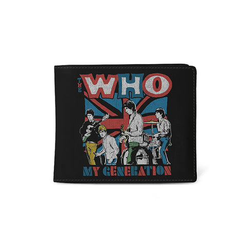 The Who   Wallet   My Generation from Rocksax | Buy Now from  £9.99