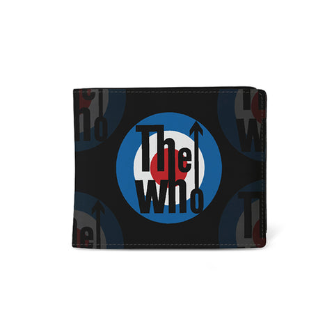 The Who   Wallet   Target from Rocksax | Buy Now from  £9.99