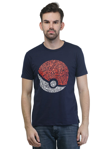 Griffel Men's Pokémon Cotton T-shirt