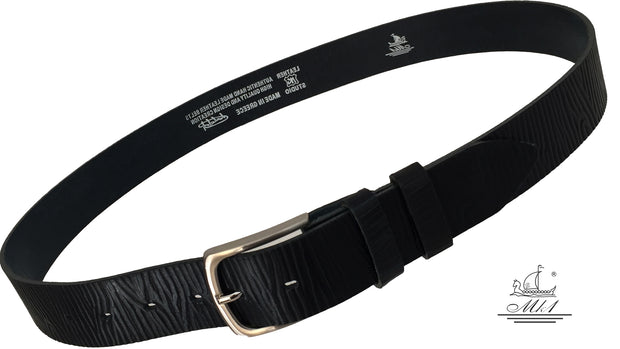 n2699/40m-dr Hand made leather belt