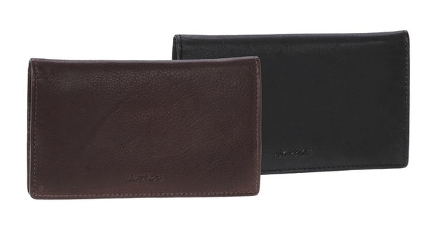 Leather tobacco case 27473 brown
