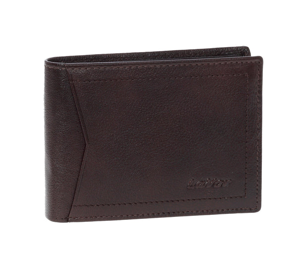 Leather wallet  3645 Brown