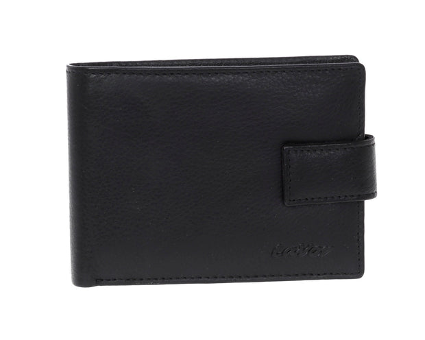 Leather wallet  3652 Black