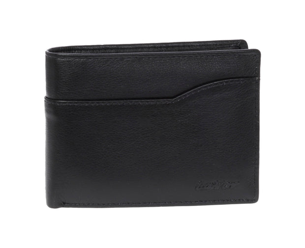 Leather wallet  3665 black