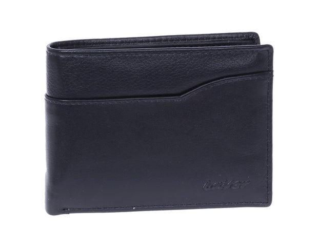 Leather wallet  3665 blue
