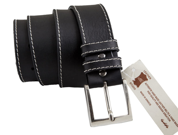 CBD00121 Handmade casual leather belt