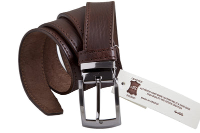 CBD285 Handmade casual leather belt