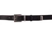 WW416/30 Belt in black leather with an impressive 3cm