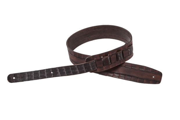 wlk144/6 leather guitar strap