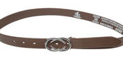 Women's thin belt handcrafted from soft leather ideal for dresses WB101293/25