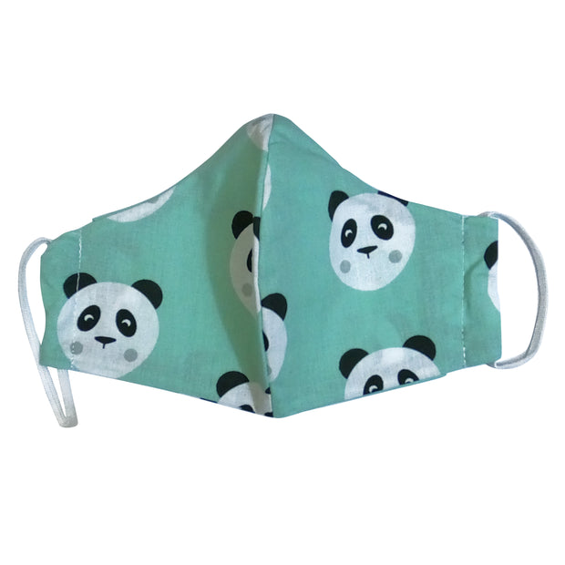 mask from multi-purpose washable cotton with filter pocket and nose support Mk1/2-1