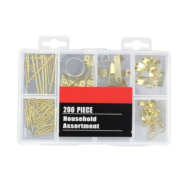 200 PCS/Set Picture Frame Hanging Kit