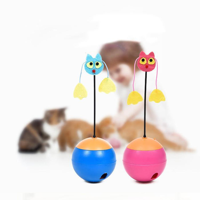 3 In 1 Cat Food Tumbler Toy
