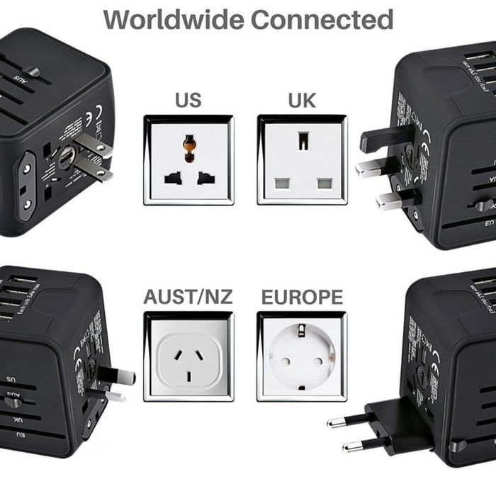 All-in-one Travel Socket
