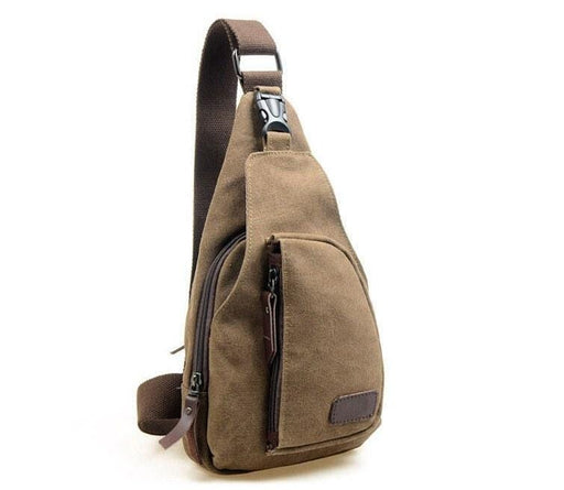 Bags - Canvas Shoulder Bag