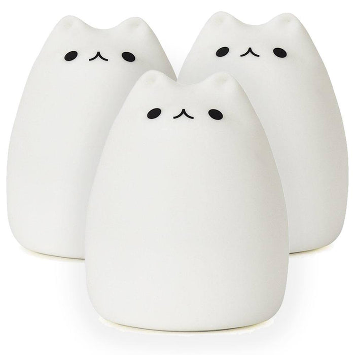 Bundle Of Three Silicone Cat Lamps