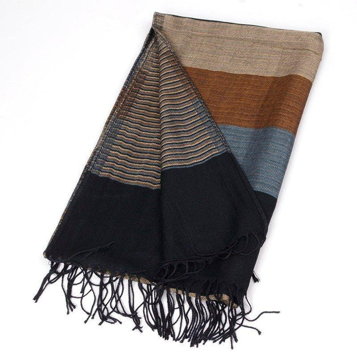 Scarves - Double Striped Scarf