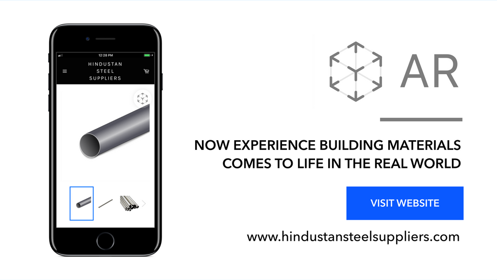 Hindustan Steel Suppliers Makes Shopping in AR ( Augmented Reality )