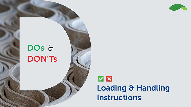 Loading & Handling | Ramco Sheets | Ramco Cement Sheets | Ramco Sheets Loading & Handling | Cement Sheets | Hindustan Steel Suppliers