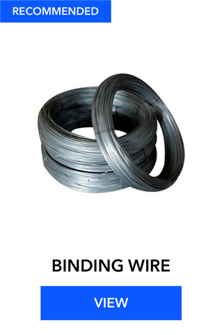 BINDING WIRE | MS BINDING WIRE | WIRE FOR TMT | Hindustan Steel Suppliers