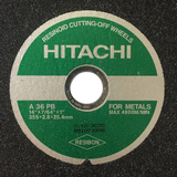 "Hitachi 14"" Cutting Wheel - Hindustan Steel Suppliers"
