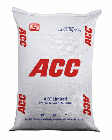 ACC OPC 43 Grade Cement - Hindustan Steel Suppliers