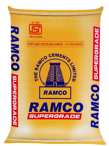 Ramco Super Grade PPC Cement - Hindustan Steel Suppliers