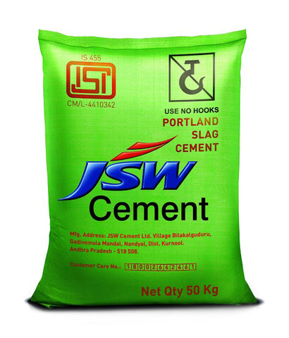 JSW PSC Cement - Hindustan Steel Suppliers
