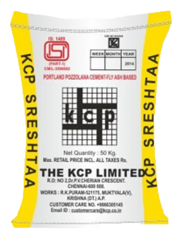 KCP PPC Cement - Hindustan Steel Suppliers