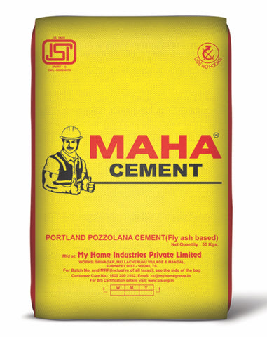 Maha Cement PPC - Hindustan Steel Suppliers